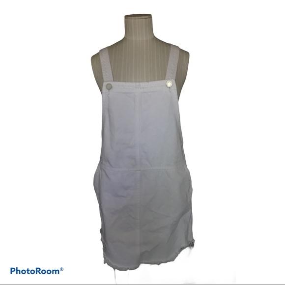 BlankNYC White Overall Mini Dress 26